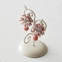 小花のブーケイヤリング